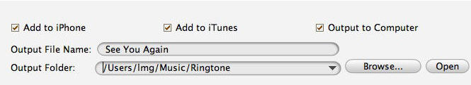How to make iphone ringtones on Mac