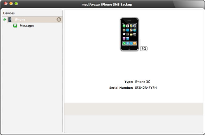iPhone SMS Backup for Mac