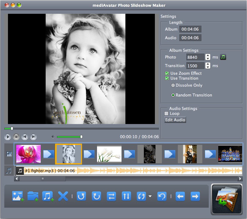Photo Slideshow Maker Mac